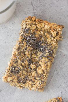 Peanut Butter Chia Granola Bars
