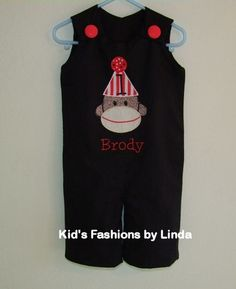 $45.00 perfect for a vintage sock monkey party!