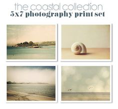 Save 20 / Beach Coastal Photography by JillianAudreyDesigns, $48.00