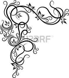 free downloadable flourishes flourishes printables diy rh pinterest com vector flourishes pack vector flourish ornaments