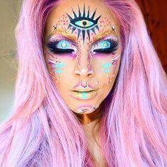 #Halloween, #makeup
