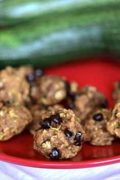 First Day of School Zucchini Oatmeal Chocolate Chip Cookies