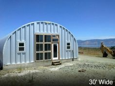 steel wall arch metal shed building