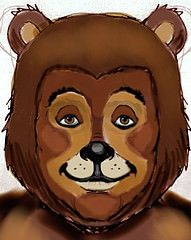 Better Bear - next time (Bournageddon) Tags: bear face animal painting facepainting costume paint teddy character makeup