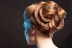 party hairstyle - wearing your hair up an easy how to guide