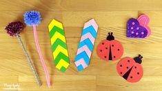 Újabb 3+1 egyszerű könyvjelző ötlet Triangle, Creative, Diy, Google, Bricolage, Do It Yourself, Homemade, Diys, Crafting