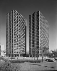 Commonwealth Promenade Apartments1956| Mies van der Rohe
