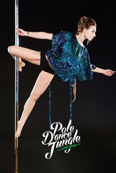 Cupid Pole Dance Jungle #PoleDanceSilhouette