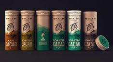 Schokolade und Kakao redesigned -