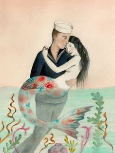 Sophie Blackall. The Sailor and The Mermaid.