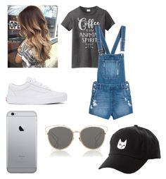 """""""Nancy Parte 1"""" by natty-moronte on Polyvore featuring moda, Vans, Christian Dior e Charlotte Russe"""