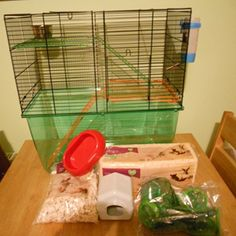 Setting up a Hamster Cage Cute Hamsters, Cage, Pets, Blog, Accessories, Animals And Pets