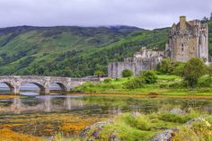Check out Eilean Donan castle in Scotland by Patricia Hofmeester on Creative Market