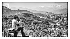 Photo 54 of 365  Taylor Hanson 2011 - San Cristóbal Hill - Santiago CL	    At the end of last year we had an amazing time touring throughout Latin America. Here's Taylor snapping a shot of the expansive Santiago valley. Who was there at the show in Chile? Tell us your story.    #Hanson #Hanson20th