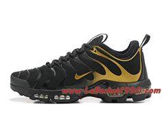 on sale e4553 afa05 Nike Air Max Plus (Nike TN) ID 903827 A007 Noir Or Chaussures Nike Prix Pas