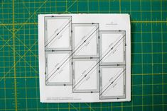 Perfect half-square triangles with no marking or squaring up, in a fraction of the time! Patchwork Quilt Patterns, Modern Quilt Patterns, Scrappy Quilts, Triangle Quilt Tutorials, Clamshell Quilt, Half Square Triangle Quilts, Quilting Rulers, Quilting For Beginners, Paper Piecing