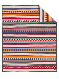 TAMIAMI TRAIL BLANKET - Pendleton-usa.com.  For lower level bedroom with blue headboard.  See me for installation details.
