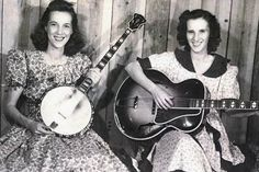 Female banjo player from 50's Lily May Ledford