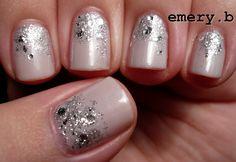Cascading Diamonds Nails