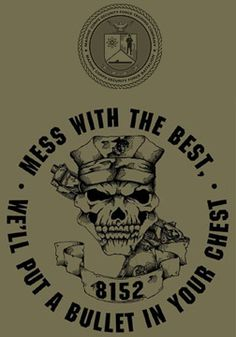 Marine Corps Security Force School USMC T-shirt - Hard Charger Apparel Once A Marine, Marine Mom, Us Marine Corps, Marine Life, Marine Quotes, Usmc Quotes, Military Humor, Military Love, Military Quotes