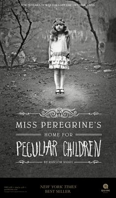 Miss Peregrine's Home for Peculiar Children Miss Peregrine's Home for Peculiar Children by Ransom Riggs I found this book very interesting. Miss Peregrine's Home for Peculiar Children is about a boy. Ya Books, I Love Books, Great Books, Books To Read, Comic Shop, Tim Burton, Miss Peregrine's Peculiar Children, Creepy Children, Peregrine's Home For Peculiars