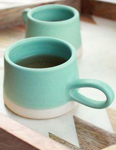 Ceramic Espresso Cup// Charm & Gumption