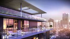 Cassa Brickell released the final collection of penthouses for the 10-story boutique condo as the project nears completion. #Miami