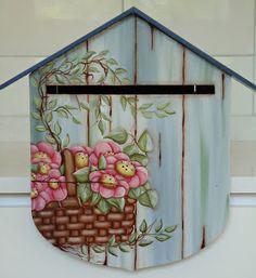 Ateliê Lucia Cabete: Pintura Country - Caixa de Correios