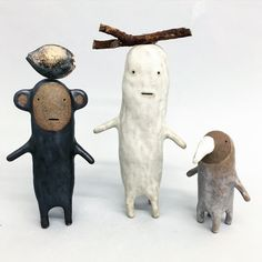 Ghost & friends / Ceramics - g de rosamel