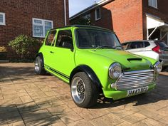 This classic mini turbo (metro turbo 1300)  is for sale.