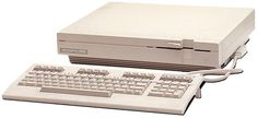 The C128D. This could be called Commodore's 8-bit predecessor of the Amiga 1000.