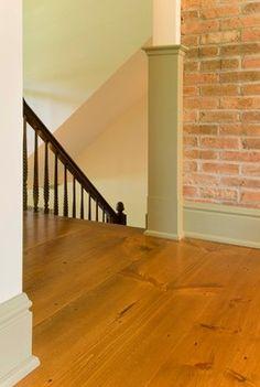 BLC Hardwood Flooring Antiqued Wire Brushed Honey Pine 3/4 In. Tx 5 1/8 In.  Wide X Random Length Solid Hardwood Flooring (23.3 Sq. Ft.