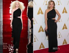 Kristen Bell In Reem Acra – Academy of Motion Picture Arts and Sciences' Scientific and Technical Awards