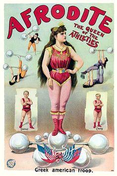 Vintage Advertising Posters | Circus