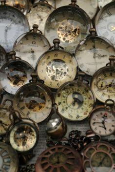 Colección de relojes bellos......