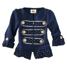 Harajuku Mini for Target® Toddler Girls Majorette Jacket - Blue.Opens in a new window