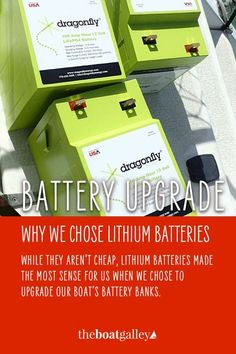 Are lithium batteries worth it? They're more expensive. But they have some important benefits. Check out our review after installing them on our boat.