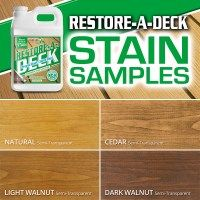 Semi Transparent Wood Stain Samples Staining Deck Deck