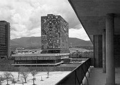 Juan O'Gorman / Biblioteca Central de Ciudad Universitaria / México D.F.