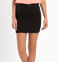 black high waisted skirt. I have been looking for this everywhere!