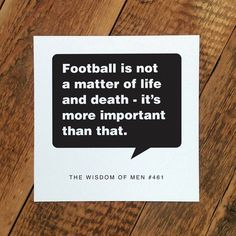 'football' card for dads #FathersDay