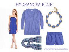 Preppy by the Sea: Hydrangea Blue