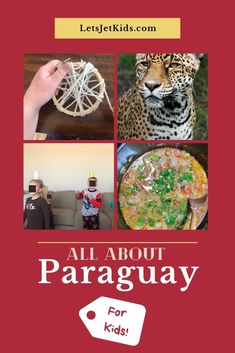 Find some fun kids activities, food, and fun facts about Paraguay! Learn the history of Paraguay, culture, language, and even practice the fun La Galopa! A great family evening is only 1 pretend plane-ride away :) Travel Info, Travel Guides, Travel Tips, Travel With Kids, Family Travel, Great Vacation Spots, Plane Ride, South America Travel, Flight Attendant