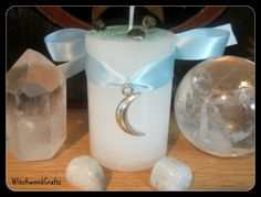Hey, I found this really awesome Etsy listing at https://www.etsy.com/ca/listing/234378564/white-magick-moon-scented-pillar-candle