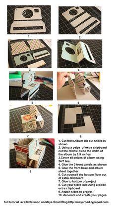¿A quien le gustaría hacer una cámara de cartón? aquí les dejamos los pasos para hacerla.