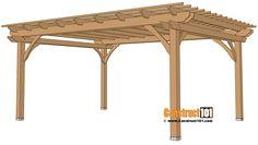 12x16 Pergola Plans | PDF | Material List - Construct101
