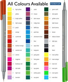 color and psychology Color Names Chart, Color Charts, Watercolor Pencils Techniques, Sharpie Colors, Color Mixing Chart, Bullet Journal For Beginners, Creation Art, Alcohol Markers, Shopping