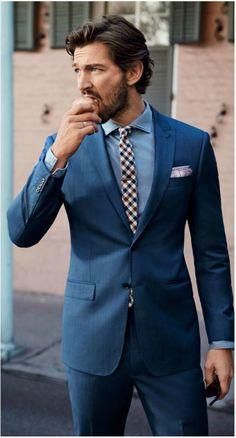 latest Coat Pant Designs Navy Blue Wedding Suit for Men Suits Tuxedo Custom Bridegroom Blazer Slim Fit 2 Piece Vestidos Terno F Gq, Mode Masculine, Wedding Guest Suits, Wedding Attire, Blue Wedding, Summer Wedding, Gothic Wedding, Trendy Wedding, Wedding Flowers