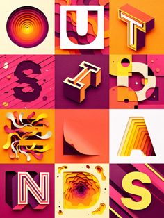 Poster for the Edition of Outside Lands Festival in San Francisco. Outside Lands Festival, Bonnaroo Music Festival, Fast Company Magazine, Award Poster, Forest Sounds, House Cast, Quality Street, 3d Letters, Communication Art