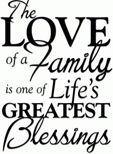 Silhouette Design Store - View Design #42126: love of a family phrase (vinyl)